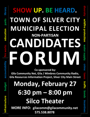 Silver City Municipal Elections Candidate Forum