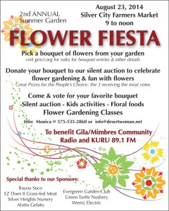 2nd Annual Summer Garden Flower Fiesta