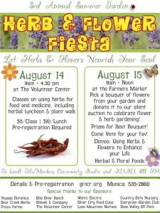 2015 Herb & Flower Fiesta!